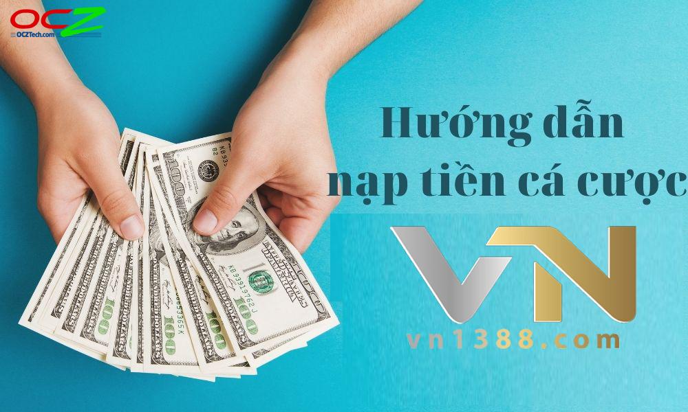 Hướng dẫn nạp tiền VN138
