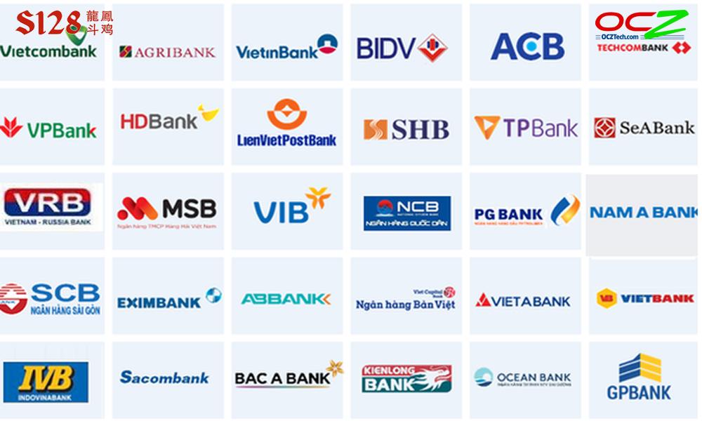 Các ngân hàng hỗ trợ rút tiền S128