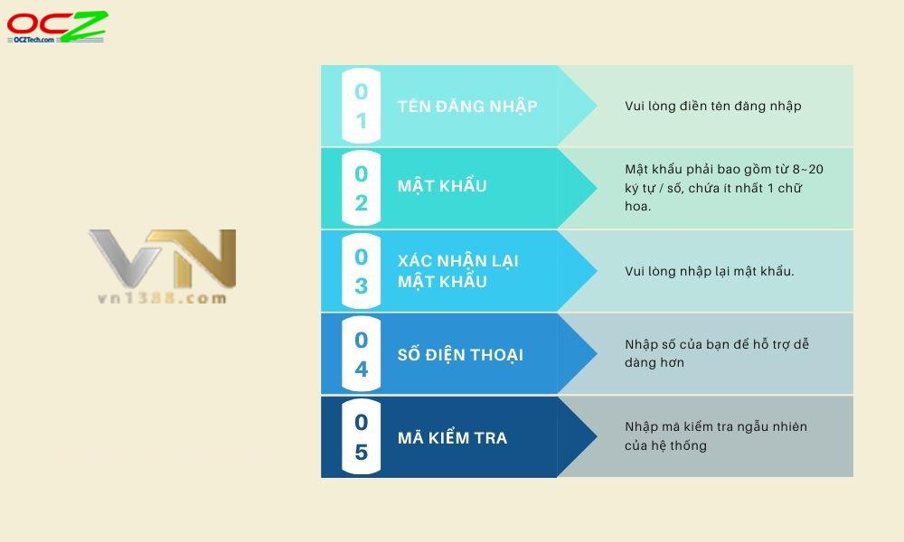 Hướng dẫn đăng ký VN138 nhanh