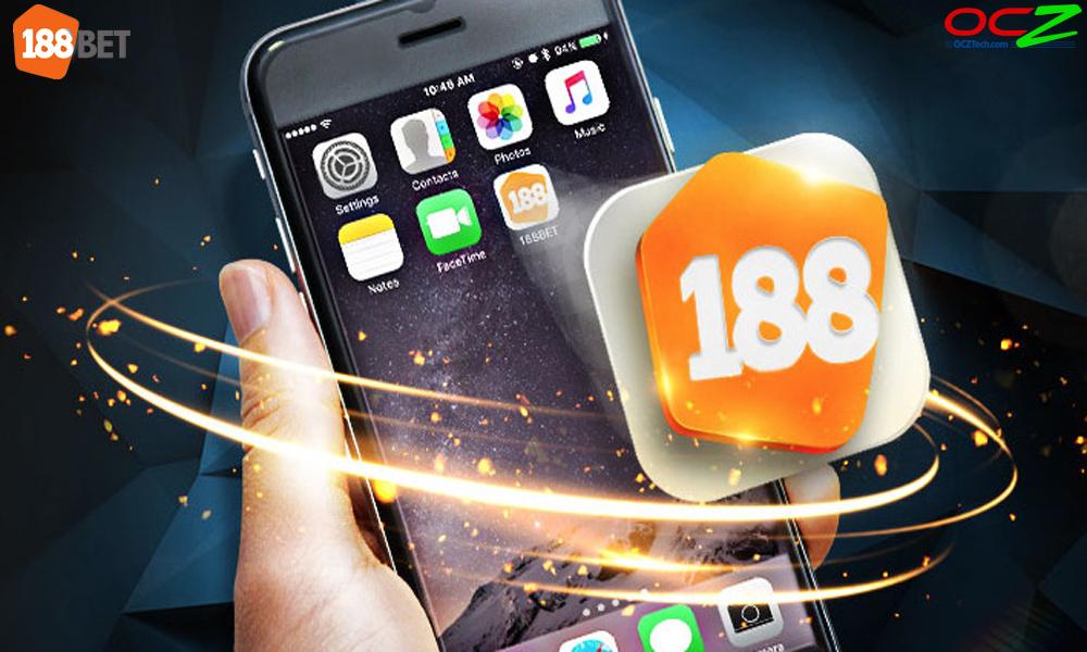 Sử dụng app cá cược 188Bet