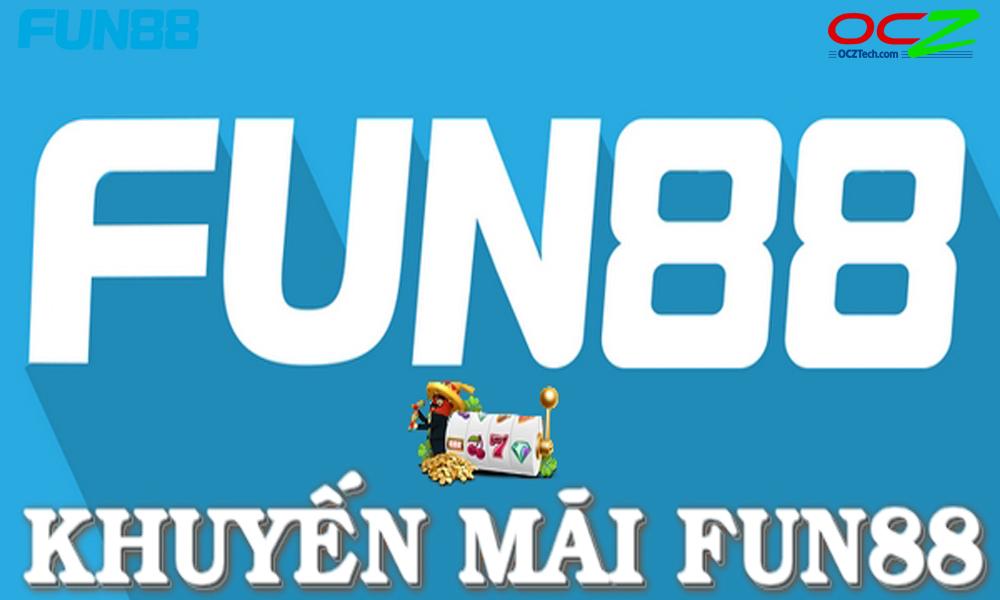 Danh sách khuyến mãi Fun88