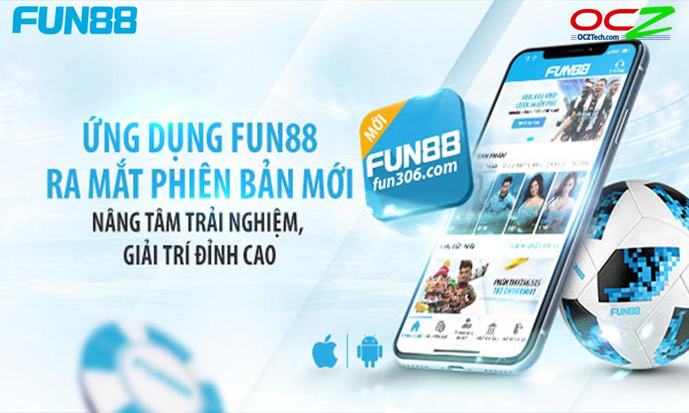 Sử dụng app cá cược Fun88