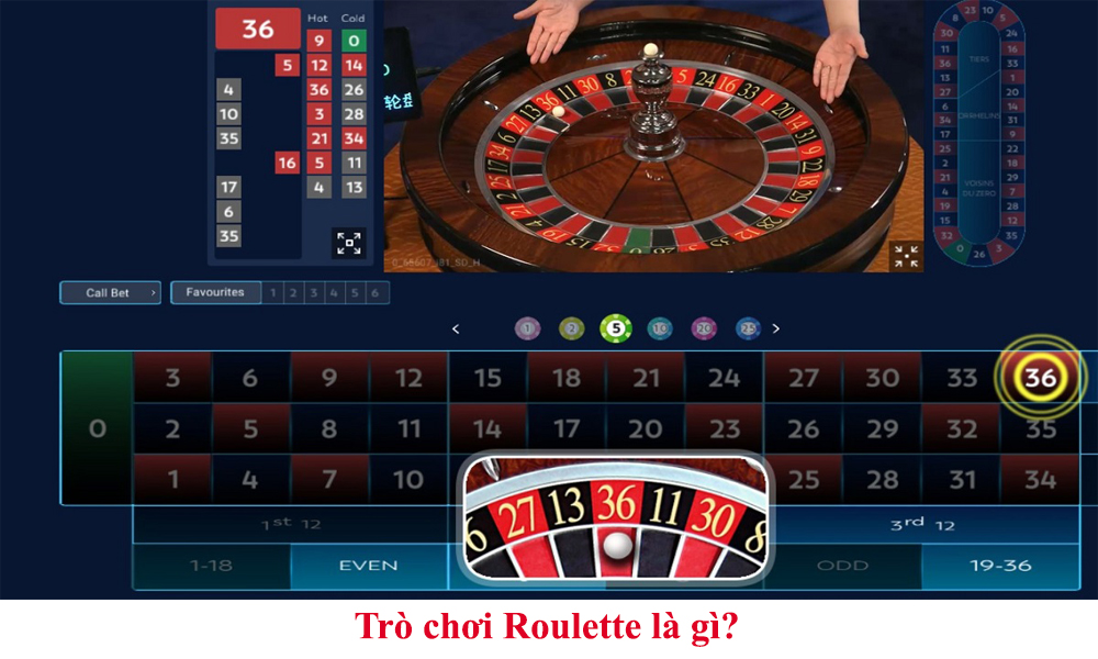 Trò chơi Roulette là gì?